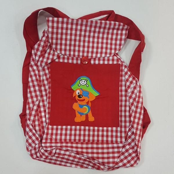mochila-colegio-cuadraditos-bordada-grabada-personalizada