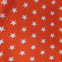 Estrellas Blancas Naranja