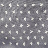 Estrellas Blancas Gris