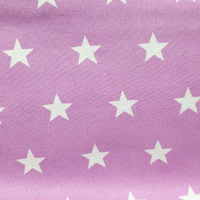 Estrellas Blancas Malva