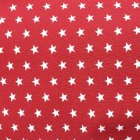 Estrellas Blancas Rojo