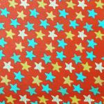 Estrellas Colores Rojo