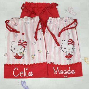 Bolsa Cole Personalizada Hello Kitty
