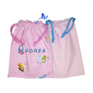 Bolsa Merienda Personalizada Princesas