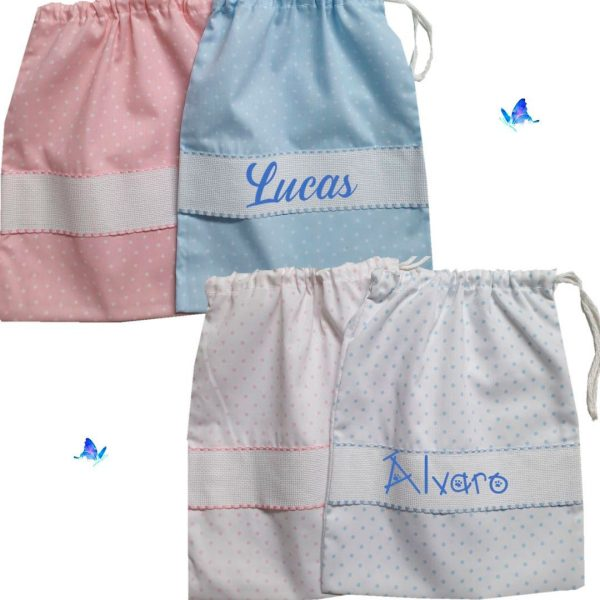 Bolsa para Bebé Personalizada de Piqué