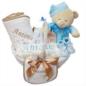 Canastilla Bebé Personalizada con Cuento