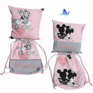 Set Personalizado con Nombre Bordado Disney