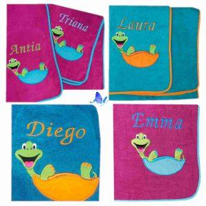 Toalla De Playa Bebé Personalizada