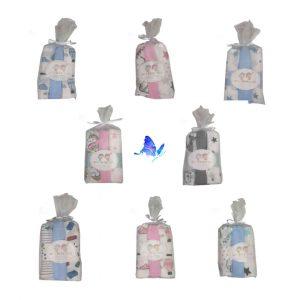 Muselina o Gasa Bebé Personalizable Pack-3