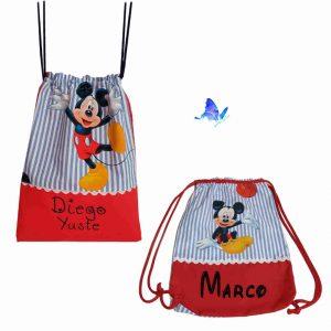 Mochila Cole Mickey Personalizada
