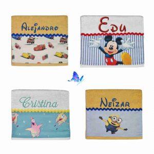 Toalla Infantil Disney Personalizada